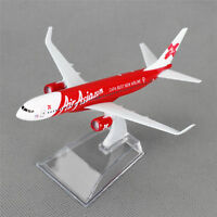 16cm Boeing 737 Luft Asia.com Airlines Flugzeug Plane Druckguss Modell