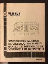 Yamaha Computerised Monitor Troubleshooting Guide - XJ / XV's Ref 90894-09053