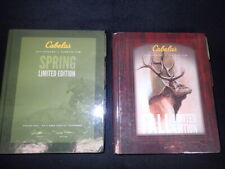 Set of Vintage 2014 Spring & 2015 Fall Cabelas Master Catalogs - Hunting Fishing