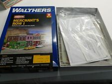 N Scale - Walthers Cornerstone 933-3850 Merchants Row I Building Structure Kit