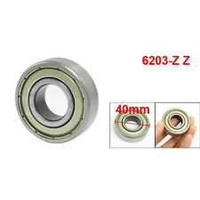 NIB SNR 6203ZZ BEARING DOUBLE METAL SHIELD 6203Z 6203 Z ZZ 17x40x12 mm NEW