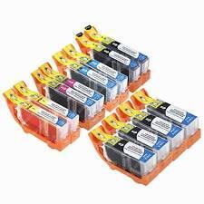 12 Ink Cartridges for Canon PIXMA  MX870 Printer