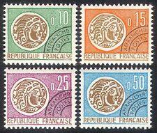 FRANCE 1964 Pièces/argent/Commerce/Pré-annuler/histoire 4 V Set (n40241)