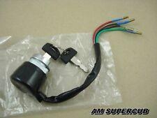 Honda CG110 JX110 CG125 JX125 Ignition Switch Key 4 wire // New