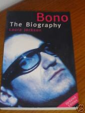 BONO The Biography by Laura Jackson - U2 BOOK - AS NEW