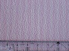 ZART-ROSA-WEISS GESTREIFTE TAPETE PUPPENSTUBE 30x53cm