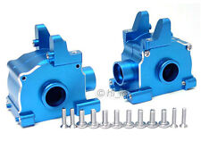ALUMINUM FRONT+REAR GEARBOX GEAR BOX HPI SAVAGE 21 25 SS 4.6