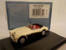 Austin Healey-Negro Blanco, modelo coches, Oxford Diecast