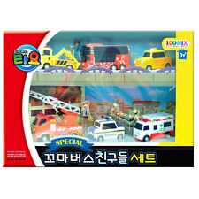 Tayo The Little Bus Special Friends Set 6pcs (Toto Cito Nuri Frank Pat Alice)