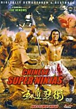 Chinese Super Ninjas -Hong Kong RARE Kung Fu Martial Arts Action movie - NEW DVD