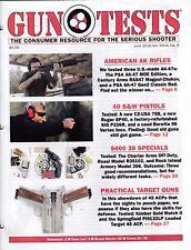 Gun Tests Magazine . JUNE 2016, AMERICAN AK RIFLES, 40 S&W PISTOLS, TARGET GUNS