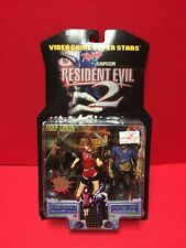 Capcom Claire Redfield And Zombie Cop Resident Evil 2 Action Figures