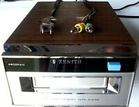 ZENITH HOME 8-TRACK TAPE PLAYER>NEEDS SOME WORK>FREE PRIORITY U.S. SHIPPING