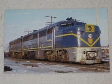 Delaware & Hudson ALCO PA-1 Train Postcard before the 1974 rebuild
