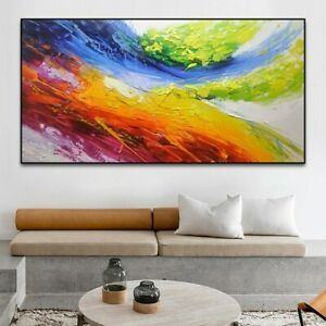 """YA1058 Decor art 48"""" 100%  Hand-painted Abstract Landscape oil painting Unframed"""