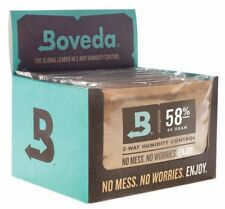 More details for boveda 58% rh 2-way humidity control large 67 gram 12-pack, individually wrap