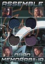 Avengers Assemble 2012 Quad Costume Memorabilia Card AQ-7