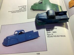 """1949 Tootsie Toy Ford F1 Pickup 3"""" Long"""