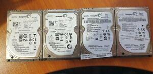 500Gb 7200Rpm 2.5 Drives x 4 System Pull lot 3