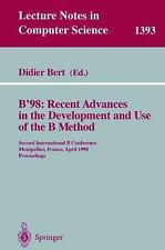B'98: Recent Advances in the Development and Use of the B Method: Seco-ExLibrary