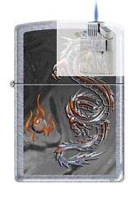 Zippo 3538 Dragon and Flame Lighter & Z-PLUS INSERT BUNDLE