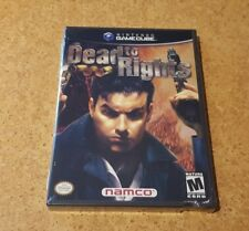 Dead to Rights (Nintendo GameCube, 2002) New, Factory sealed