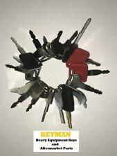 18 Keys Heavy Equipment / Construction Ignition Key Set