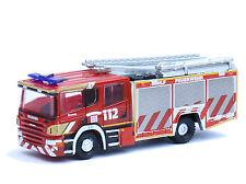 Oxford SP114 - Scania HLF 20/16 Feuerwehr Löschfahrzeug 112 - Spur N - NEU