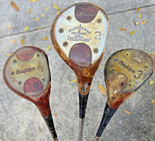 MIXED Golf DRIVER WOOD LOT MacGregor Tourney Velocitized Vintage Persimmon