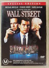 Wall Street (Michael Douglas & Charlie Sheen) DVD (Region 4)