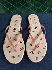 Lauren Conrad Women's Peach Flip Flops Sandals Sz10  New