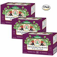 TADIN ARTICHOKE TEA BLEND WITH 24 BAGS / 3 BOXES TE DE ALCACHOFA