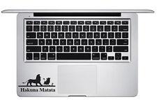 Lion King Hakuna Matata No Worries Trackpad Keyboard Laptop Macbook Sticker