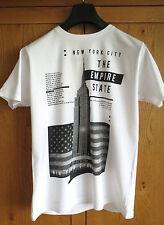Ciudad de Nueva York Empire State Camiseta-totalmente nuevo para hombre Ropa De Moda Unisex