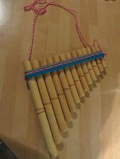 ANTARA Flûte Musical Instrument de percussion Neuf Pérou 17 cm 13 note peruvi