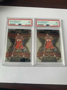 2019 Panini Select Rui Hachimura RC PSA 9 Mint #51 Rookie Card