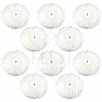 10 Pack Felji Microfiber Replacement Mop Pads for Hurricane PRO 360 Spin Mops