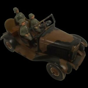 Tipp & Co. Tinplate Clockwork German Army Kúbelwagen 1936-40