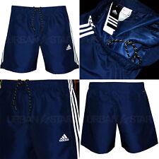 Adidas Essential 3 Stripe Chelsea Shorts Mens Original Climalite Gym Shorts