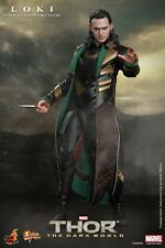 "HOT TOYS Thor The Dark World Loki Tom Hiddleston 12"" Figure IN STOCK"
