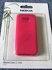 Genuine originale CC-1002 in Silicone Gel Custodia/Coperchio/Skin-NOKIA 5530-Rosa