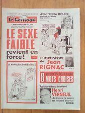 LE HERISSON n°1841 - 1981 - Humour - Henri Verneuil - Yvette Roudy