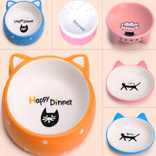 Dog Cat Eating Bowl Household Pet Water Puppy Food Feeding Dishware Supplies