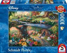 THOMAS KINKADE - DISNEY'S ALICE IM WUNDERLAND - Schmidt Puzzle 59636 - 1000 Pcs.