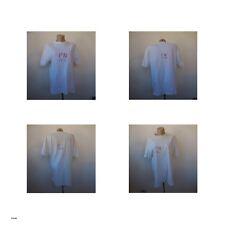 2 t-shirts signés PN textile vintage Patrick NICOLAS art-déco design France