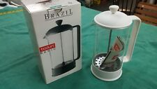 Bodum Brazil French Press Coffee Maker 8 Cup White #1548
