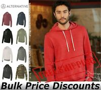 Alternative Mens Eco-Fleece Challenger Hooded Pullover Shirt 9595 up to 3XL