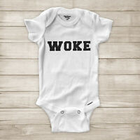 Woke Black Lives Matter BLM Activist No Justice Equality Baby Infant Bodysuit