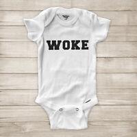 Woke Black Lives Matter BLM Activist No Justice Equality Baby Infant Bodysuit