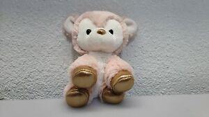 """Aurora Babies Sheep Lamb Plush Rose Gold Pink Deer Toy Fawn Stuffed Animal 7"""""""